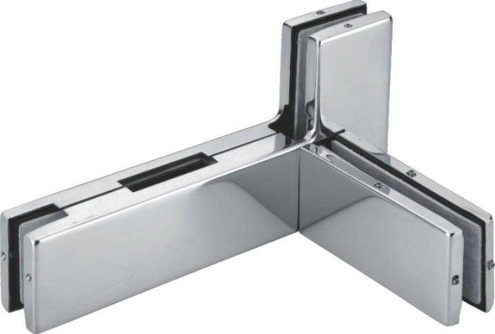 aluminum cover 8-12mm glass door clamp F093L