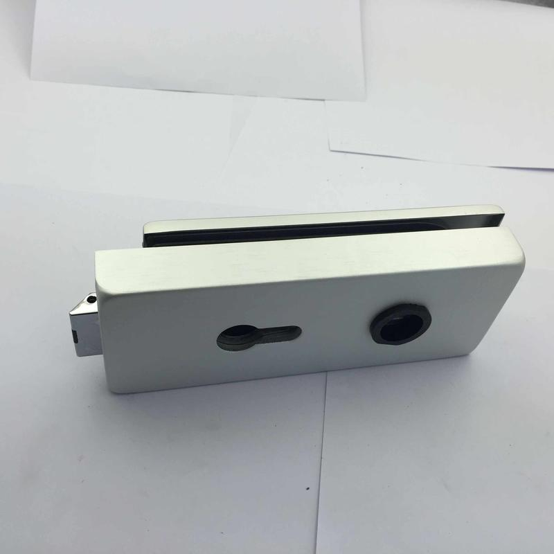 glass clamp door patch lock for door 1631