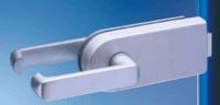 stainless steel studio glass door lock 1606