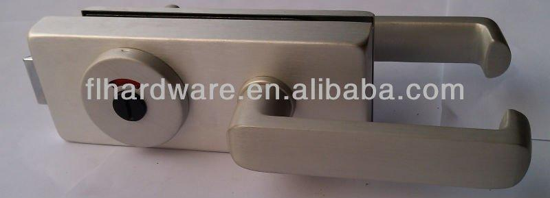high quality toilet glass door lock 1634